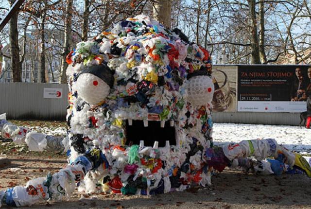 Экологические поделки из мусора